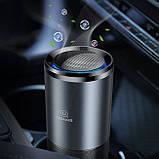 Портативный очиститель воздуха Usams US-ZB169 Portable UVC Air Purifier Black, фото 3