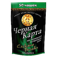 "Кофе растворимый ""Черная Карта"" Exclusive Brasillia м\п 95 г."