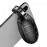 Игровые триггеры (геймпад) для телефона Baseus Grenade Handle Black, фото 3