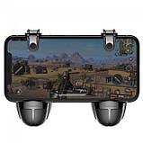Игровые триггеры (геймпад) для телефона Baseus Grenade Handle Black, фото 4