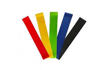 Фитнес резинки Fitness rubber bands 5 шт.