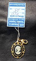 Подвеска на браслет Камелия - миниатюрный портрет