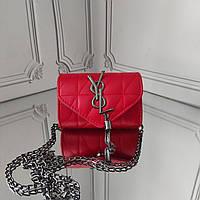 Сумочка для девочки, мини кросс боди, Yves Saint Laurent, фото 1