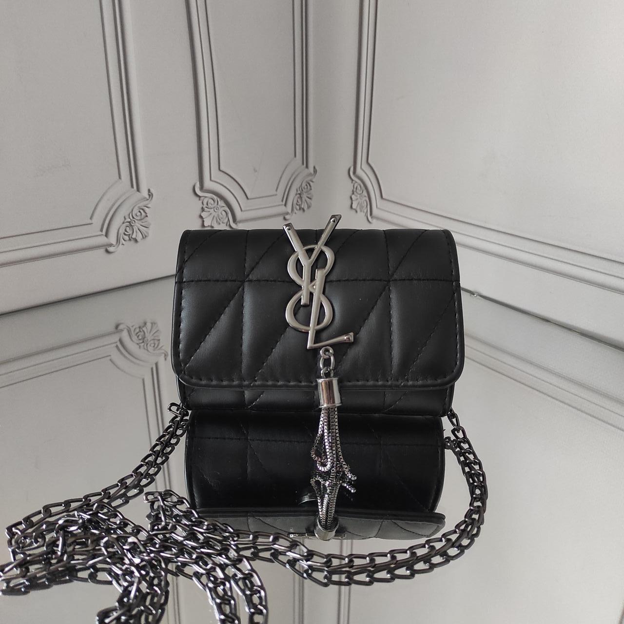 Сумочка для девочки, мини кросс боди, Yves Saint Laurent