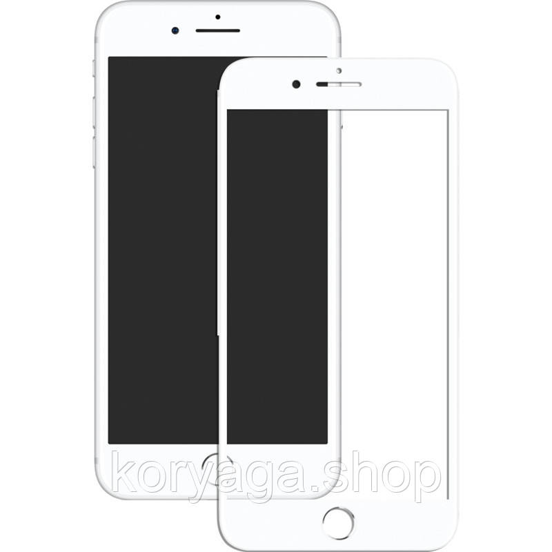 Защитное стекло Mocolo 3D Full Cover Tempered Glass iPhone 8 Plus White #I/S