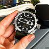 Часы оригинальные мужские наручные кварцевые Megalith 8051M Green-Silver-Black / часы оригиналы, фото 4