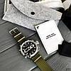 Часы оригинальные мужские наручные кварцевые Megalith 8051M Green-Silver-Black / часы оригиналы, фото 2