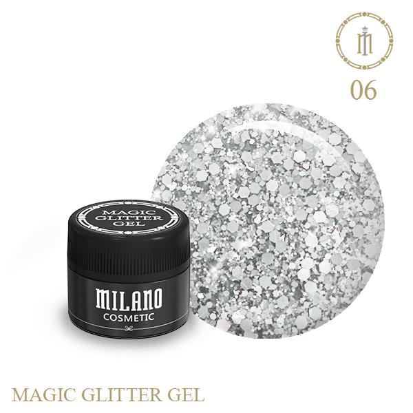 Magic Glitter Gel 6gr № 6