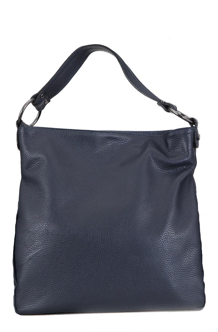 Компактная сумка-шопер SARA Diva's Bag темно-синяя
