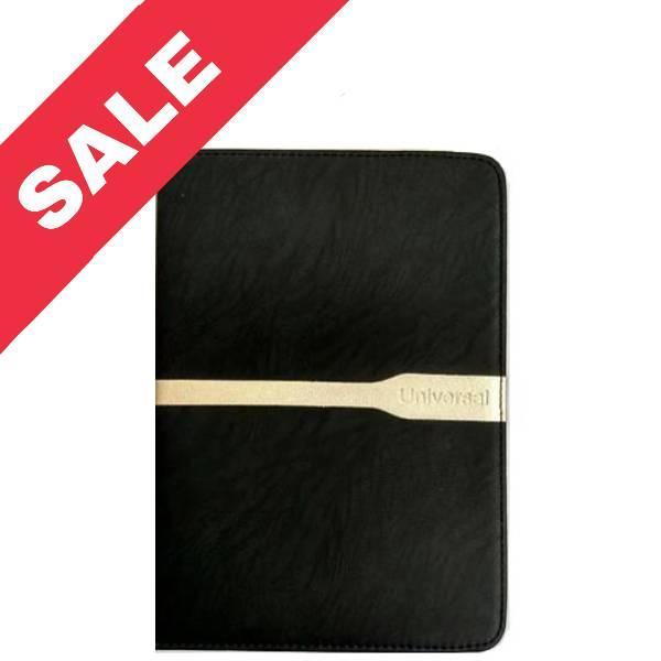 """Универсальная чехол книжка для планшета 7 """"black gold"""
