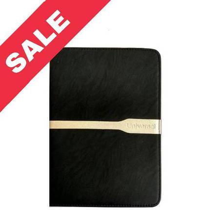 """Универсальная чехол книжка для планшета 7 """"black gold, фото 2"""