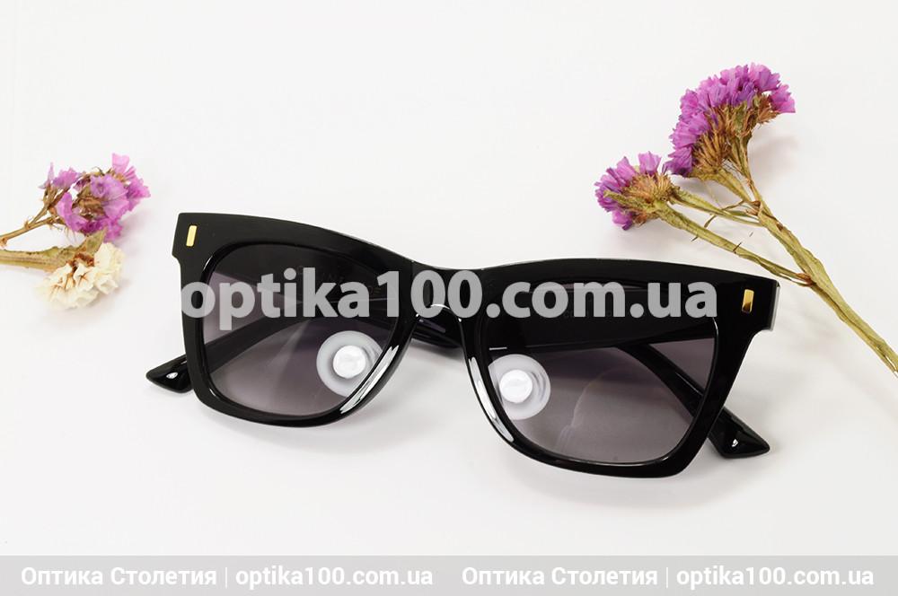Солнцезащитные черные очки ДЛЯ ЗРЕНИЯ в стиле CELINE