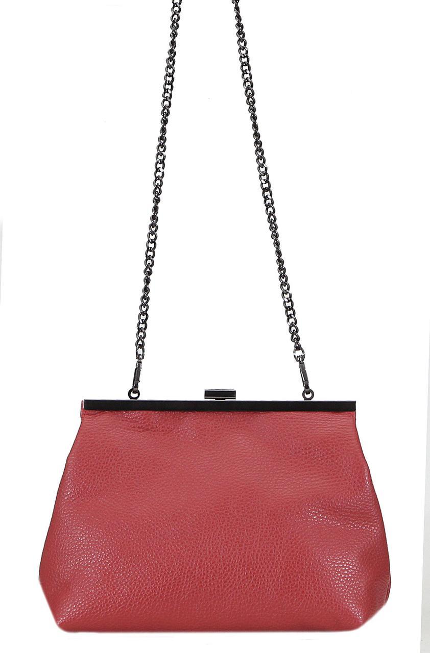 Женская кожаная сумка RUBY Diva's Bag цвет красный