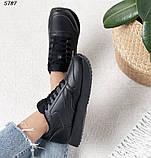 Кроссовки женские черные 5787, фото 6