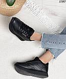 Кроссовки женские черные 5787, фото 8