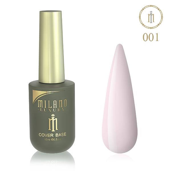 Цветная база Milano Luxury 15 мл №01