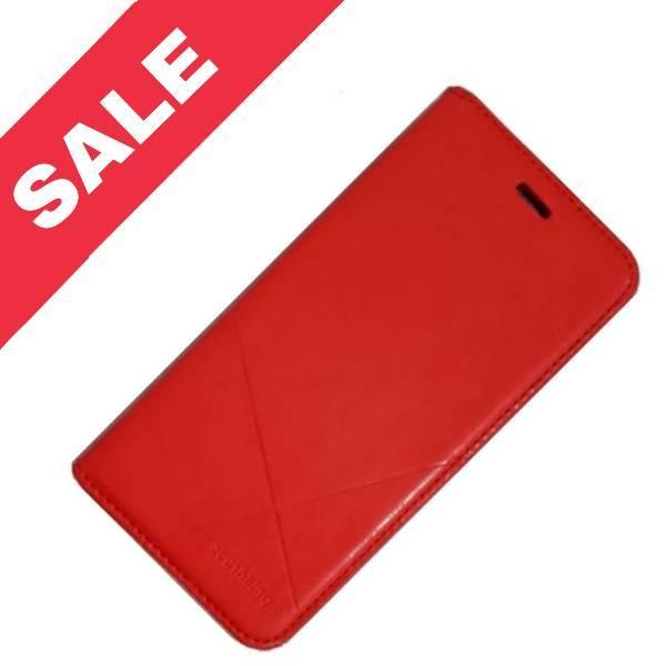 Чехол книжка Southking для Huawei P20 Lite red