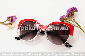 Солнцезащитные очки ДЛЯ ЗРЕНИЯ в стиле Barberry. Красные, фото 2
