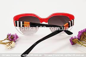 Солнцезащитные очки ДЛЯ ЗРЕНИЯ в стиле Barberry. Красные, фото 3