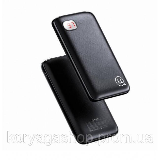 Power Bank Usams US-CD73 PB12 Digital Display 10000mah Black
