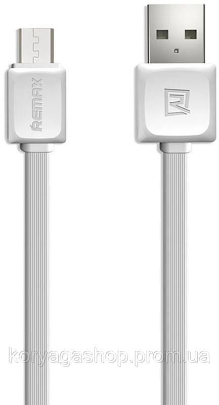 Кабель Remax Fast Data Micro-USB 1m White #I/S