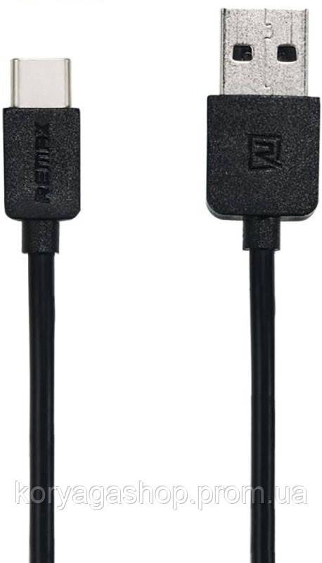 Кабель Remax Light cable Type-C 1m Black #I/S