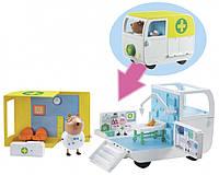 Игровой набор Character Options Peppa Pig Медицинский центр на колесах 06722, КОД: 2429945
