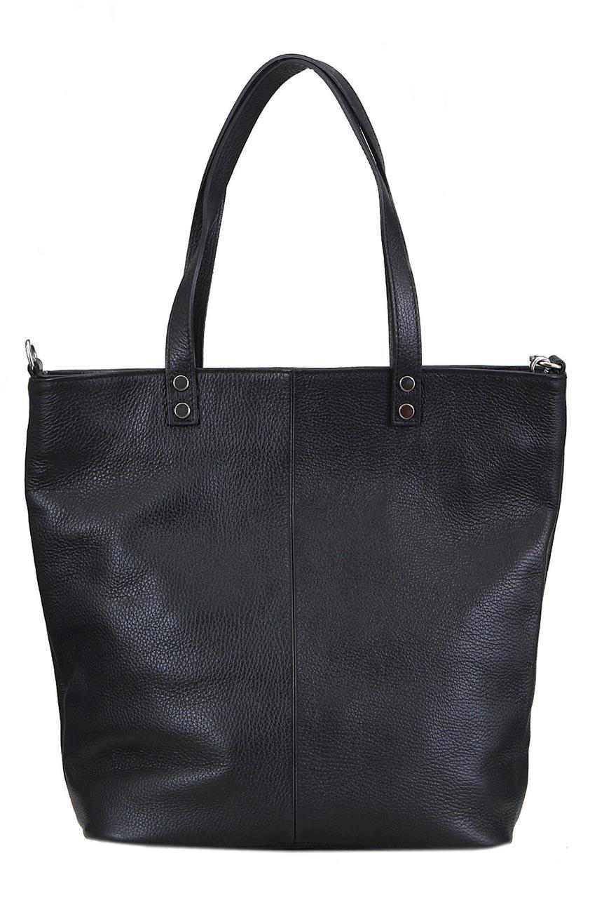 Женская сумка JULIETTE кожаная от Diva's Bag черного цвета
