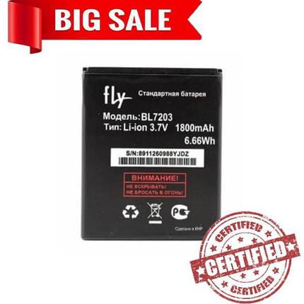 Аккумулятор BL7203 для Fly IQ4405 \ IQ4413 original 1800 mAh, фото 2