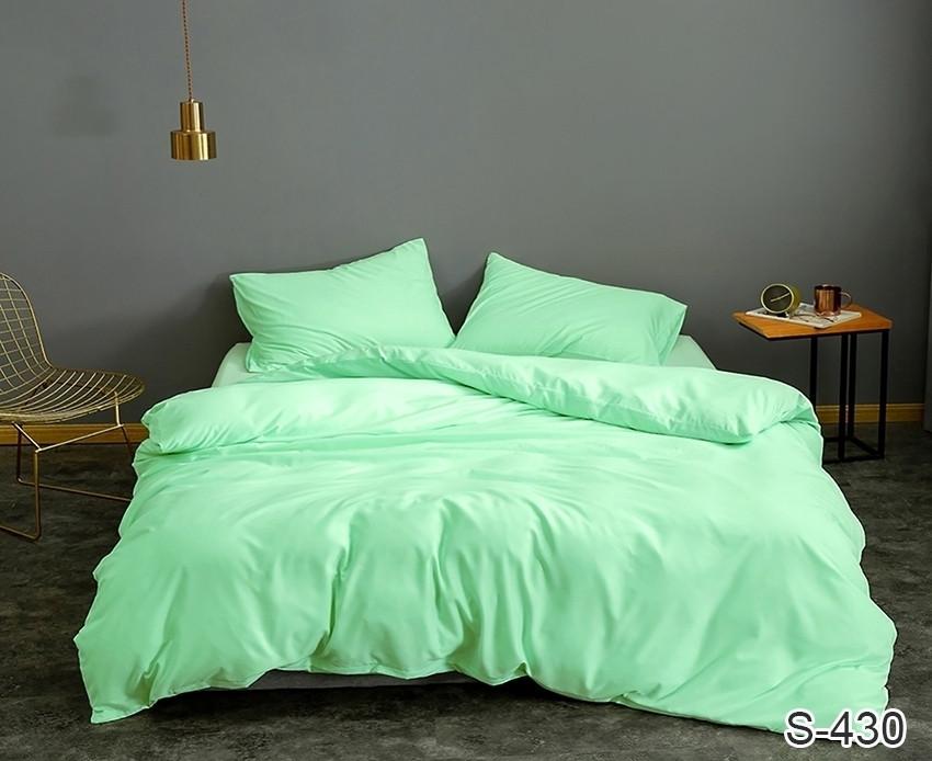 Двуспальный комплект постельного белья сатин люкс S430