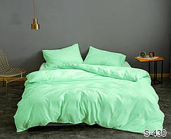 Семейный комплект постельного белья сатин люкс S430