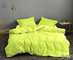 Семейный комплект постельного белья сатин люкс S431