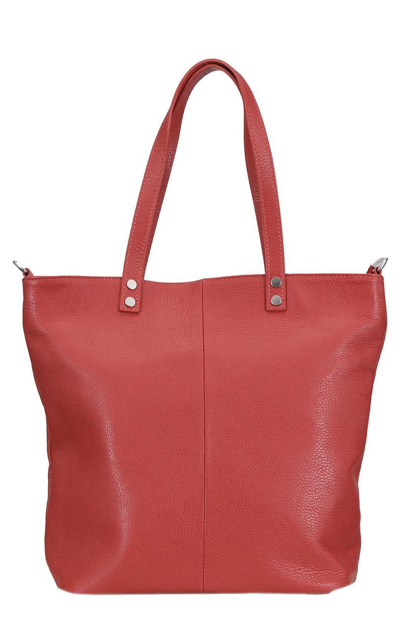 Женская сумка JULIETTE кожаная от Diva's Bag красного цвета
