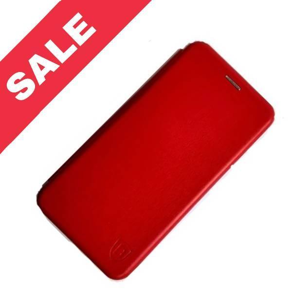 Чехол книжка LEVEL (Kira) Samsung A8 Plus 2018 (A730) red