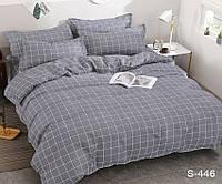 Семейный комплект постельного белья сатин люкс S446, фото 1