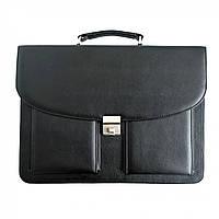 Портфель для документов Дорожка 31х39х7 см Black 7229, КОД: 1890143