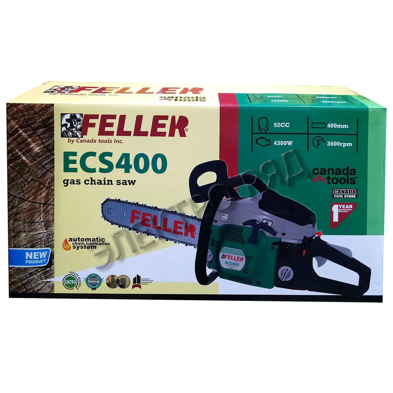 Бензопила цепная Feller ECS400