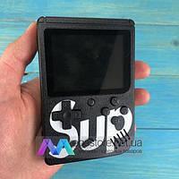 Портативная игровая консоль ретро приставка Retro FC Sup Game Box 400 игр dendy денди 8бит черная