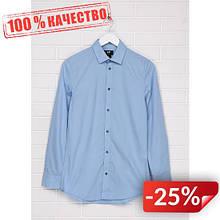 Рубашка H&M 45224442 M Голубой (2000000874678)
