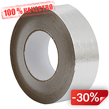 Клейкая алюминиевая лента с сеткой Europlast LAS75-50 (73987)