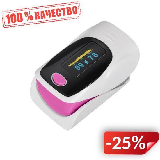 Электронный Пульсоксиметр на палец Kron JZIKI PLS303 (hub_yo5llt)