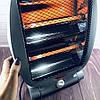 Обогреватель инфракрасный Dоmotec Heater MS-5952 - Галогенный напольный инфракрасный электрообогреватель, фото 2