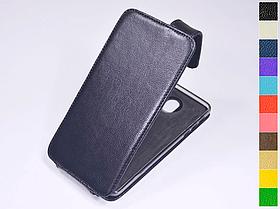 Откидной чехол из натуральной кожи для Motorola Moto Z XT1650-03