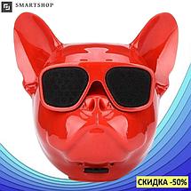Портативна Колонка S3 Голова собаки - бездротова Bluetooth колонка у вигляді голови собаки, фото 2