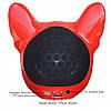 Портативна Колонка S3 Голова собаки - бездротова Bluetooth колонка у вигляді голови собаки, фото 4