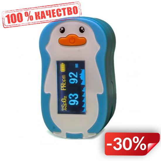 Пульсоксиметр детский FS20P цветной OLED дисплей, Accurate (FL000087)