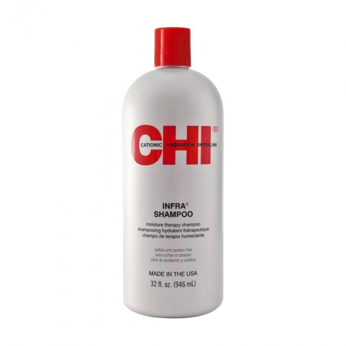 Увлажняющий шампунь для всех типов волос CHI Infra Shampoo 946 мл.