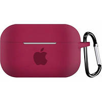 Чехол for AirPods PRO Silicone case Rose red 2000001143568, КОД: 1915943