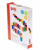 Настольная игра Goki Домино Каменное ралли 58788, КОД: 2438503
