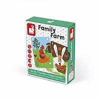 Настольная игра Janod Happy Families Ферма J02756, КОД: 2438767